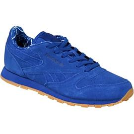 Bleu Chaussures Reebok Classic Leather Tdc Jr BD5052