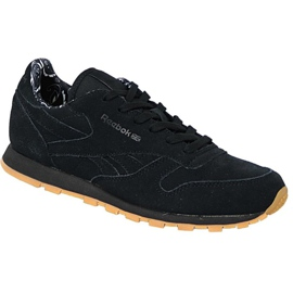 Chaussures Reebok Classic Leather Tdc Jr BD5049 noir