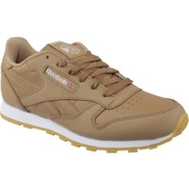 Reebok Classic Leather Jr CN5610 chaussures brun
