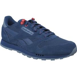 Reebok Classic Leather Jr CN4703 chaussures bleu