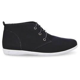Chaussures élégantes hautes 3569 noir