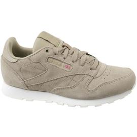 Chaussures Reebok Cl en cuir Mcc Jr CN0000 gris