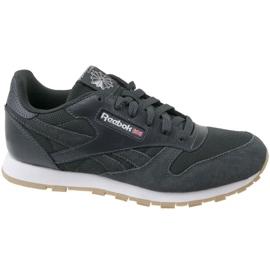 Chaussures Reebok Cl Leather Estl U CN1142 gris