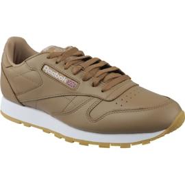 Brun Reebok Classic Lthr M CN5768 chaussures