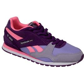 Reebok Gl 3000 Sp Jr BD2439 chaussures pourpre
