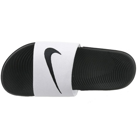 Blanc Chaussons Nike Kawa Slide Gs / Ps 819352-100