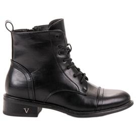 Vinceza noir Black Tied Workers