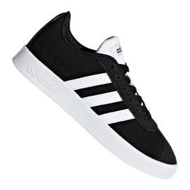 Noir Adidas Vl Court 2.0 Jr DB1827 chaussures