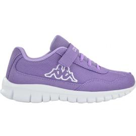 Kappa Follow Jr 260604K 2310 chaussures pourpre