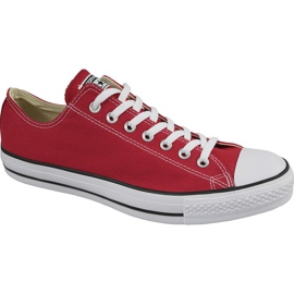 Converse C. Taylor Chaussures All Star Ox Optical Rouge M M9696