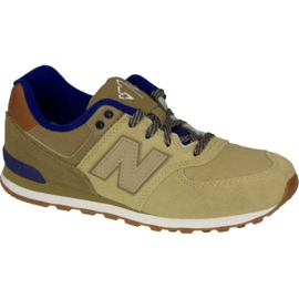 Brun New Balance chaussures W KL574NMG