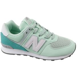 Chaussures New Balance en GC574D5 vert