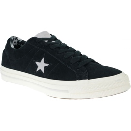 Noir Converse One Star M C160584C chaussures