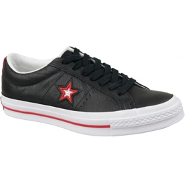 Noir Converse One Star M 161563C chaussures