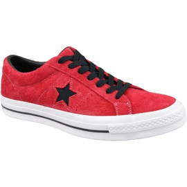 Converse One Star M 163246C chaussures rouge