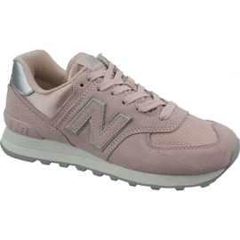Chaussures New Balance dans WL574OPS rose