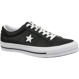 Converse Chaussures One Star Ox 163385C noir