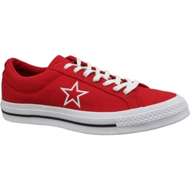 Converse One Star Ox chaussures M 163378C rouge