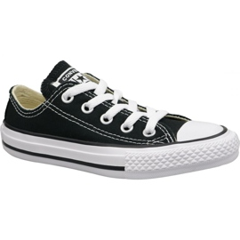 Noir Converse C. Taylor All Star Youth Ox Jr 3J235C chaussures