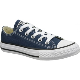 Converse C. Taylor All Star Youth Ox Jr 3J237C chaussures marine