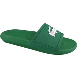 Vert Chaussons Lacoste Croco Slide 119 1 M 737CMA00181R7