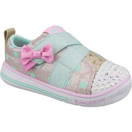 Chaussures Skechers Twinkle Play Jr 20138N-GDMT