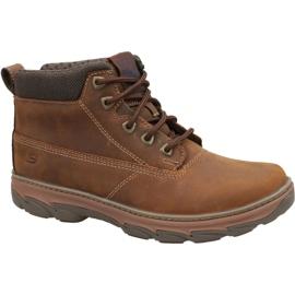 Chaussures Skechers Resment M 64837-CDB brun
