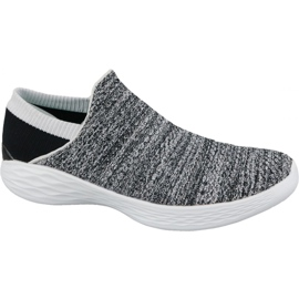 Skechers You W 14951-WBK chaussures gris