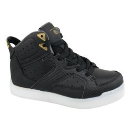 Chaussures Skechers E-Pro Street Quest Lights 90615L-BLK noir