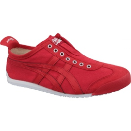 Asics rouge Chaussures Onitsuka Tiger Mexico 66 Slip-On M D3K0N-600