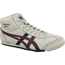 Asics blanc Onitsuka Tiger Mexique Mid Runner M HL328-250 chaussures