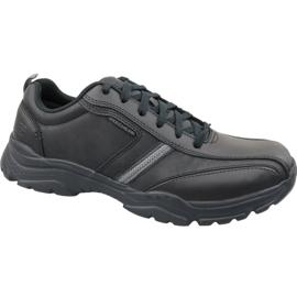 Noir Skechers Rovato M 65419-BBK chaussures