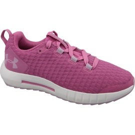 Under Armour Suspend Jr 3022054-601 chaussures rose
