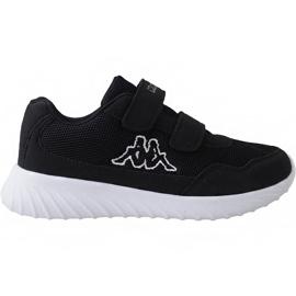Noir Kappa Cracker Ii Jr 260647K 1110 chaussures