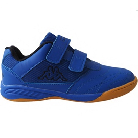 Bleu Kappa Kickoff Oc Jr 260695K 6011 chaussures
