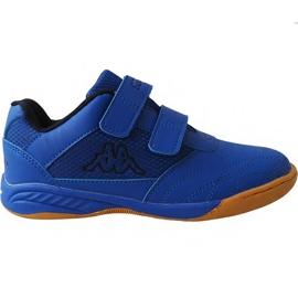 Kappa Kickoff Oc Jr 260695K 6011 chaussures bleu