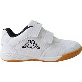 Blanc Kappa Kickoff Jr 260509K 1011 chaussures