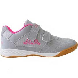 Kappa Kickoff Jr 260509K 1522 chaussures gris