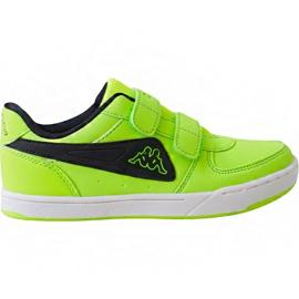 Chaussures Kappa Trooper Light Ice 260575K 3011 enfants vert