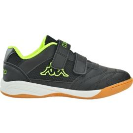 Kappa Kickoff Jr 260509T 1140 chaussures noir