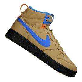 Chaussures Nike Court Borough Mid Boot 2 (GS) Jr BQ5440-701 jaune