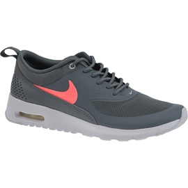Gris Chaussures Nike Air Max Thea Gs W 814444-007