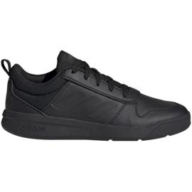 Noir Adidas Tensaur Jr EF1086 chaussures
