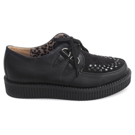 Bottes Creepers On Platform 061ss Noir