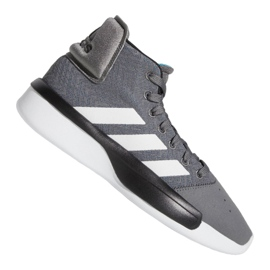 Adidas Pro Adversary 2019 M BB9190 chaussures gris gris / argent