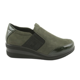 Chaussures compensées Sergio Leone 225 olive