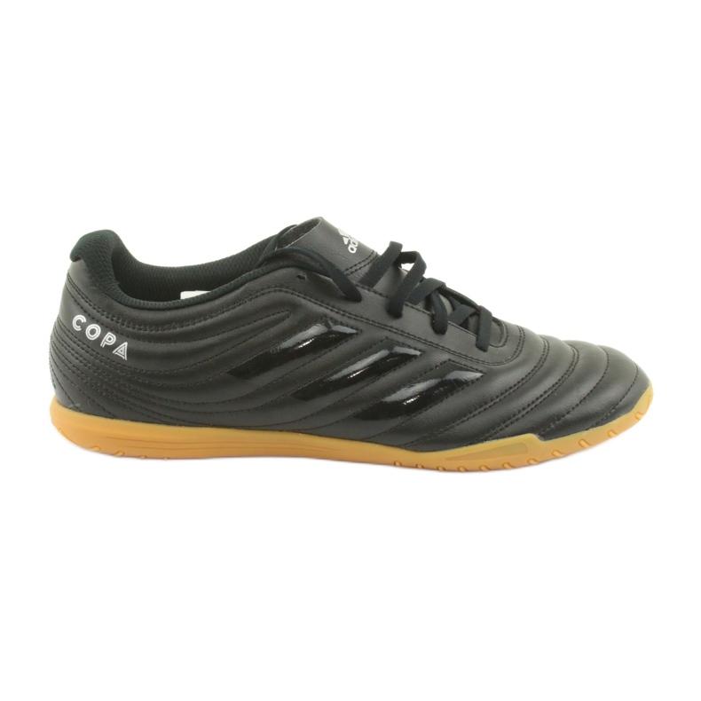 Chaussures Indoor adidas Copa 19.4 In M F35485 noir