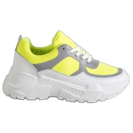 Ideal Shoes Chaussures de sport néon