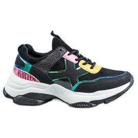 SHELOVET Chaussures de sport à la mode noir