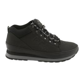 Lee Cooper chaussures d'hiver pour hommes 19-20-011 noir
